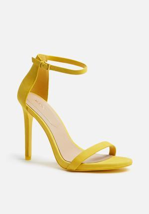 ALDO Caraa Heels Yellow