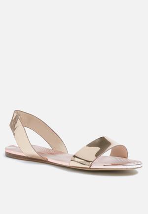 ALDO Yoana Sandals & Flip Flops Gold