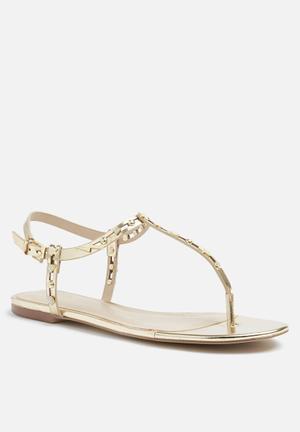 ALDO Besos Sandals & Flip Flops Gold