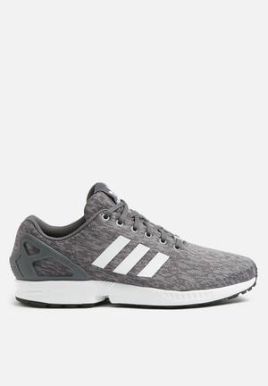 Adidas Originals ZX Flux Sneakers Grey Five, White & Black