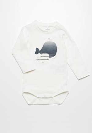 Name It Flik Babygrow White
