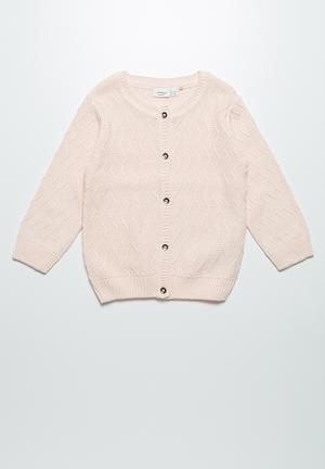 Name It Felissa Knit Cardigan Jackets & Knitwear Pink