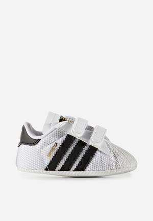 Adidas Originals Baby Superstar Shoes White/black/white