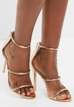 Footwork Hayden Heels Rose Gold