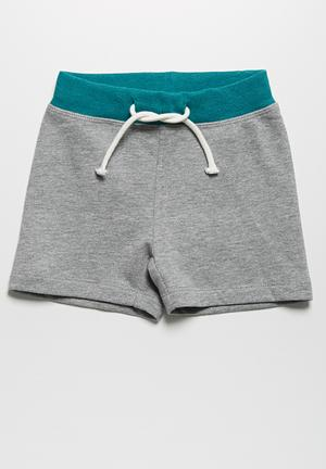 Name It Jay Shorts Grey Melange