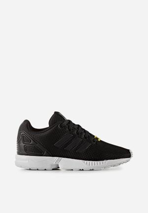 Adidas Originals Kids ZX Flux Shoes Black/black/white