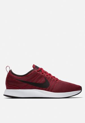 Nike Dualtone Racer Trainers Noble Red / Port Wine