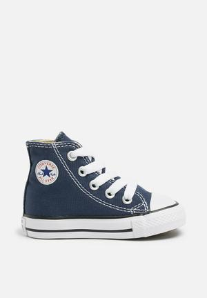 Converse Infant All Star Hi Shoes Navy