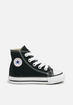 Converse Infant All Star Hi Shoes Black