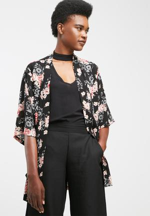 Dailyfriday Kimono Soft Jacket Black