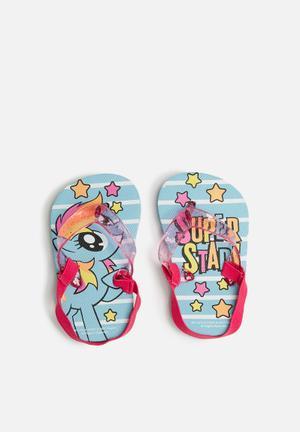 My Little Pony flip flops