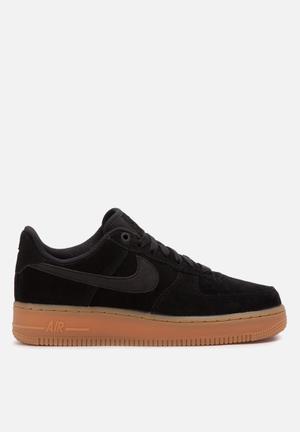 Nike Air Force 1 '07 SE Sneakers Black / Gum Brown