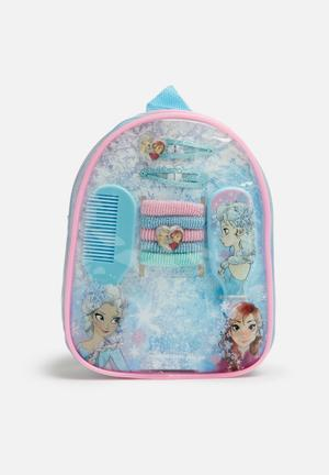 Character Fashion Frozen Hair Accessories Gift Bag Accessories Blue