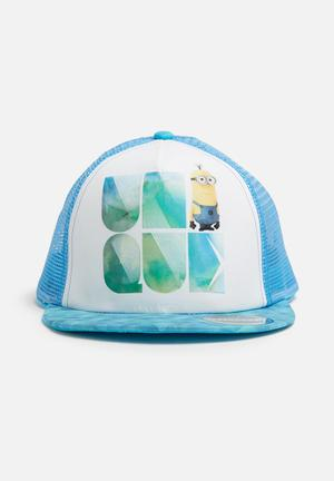 Character Fashion Despicable Me Trucker Cap Accessories Blue