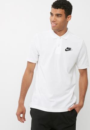 Nike Matchup Polo T-Shirts Black & White