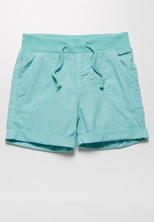 MINOTI Ben Woven Shorts Blue