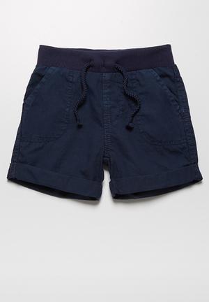 MINOTI Ben Woven Shorts Navy