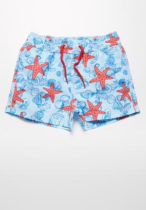 MINOTI Starfish Swimshorts Swimwear Multi