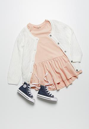 Name It Felissa Knit Cardigan Jackets & Knitwear White