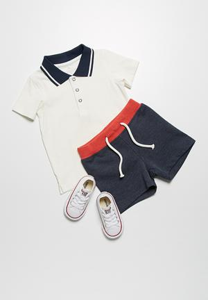 Name It Artie Polo Shirt Tops White