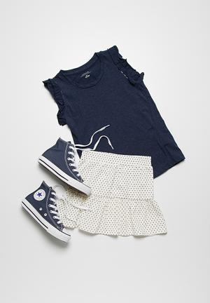 Name It Tiered Skirt White