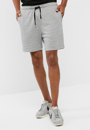 Basicthread Regular Fit Sweat Shorts Grey