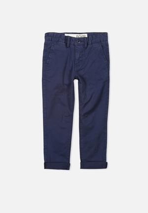 Cotton On Kids Jack Chino Pants & Jeans Navy