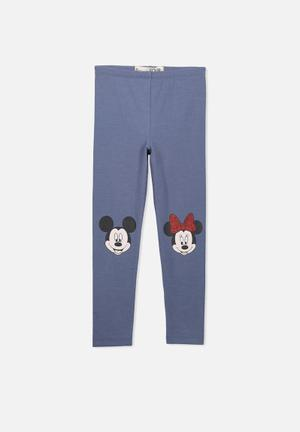 Cotton On Kids Huggie Tights Pants & Jeans Blue