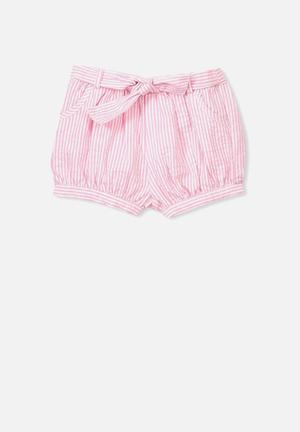 Cotton On Coco Shorts White & Pink