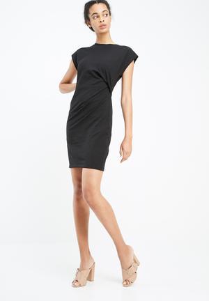 Vero Moda Hilde Knot Dress Casual Black