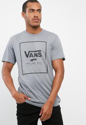 Vans Short Sleeve Tee T-Shirts & Vests Grey