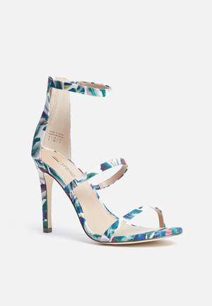 Call It Spring Astoelia Heels Green,Blue & White