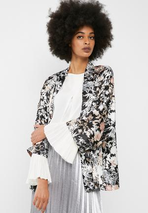 Dailyfriday Kimono Jacket Black, Grey, Beige, & Cream