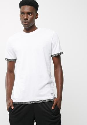 Adidas Originals Nmd S/s Tape Tee T-Shirts Bottle Green
