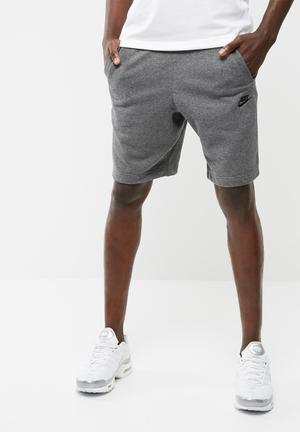 Nike Air Force 1 Sweat Short Charcoal Grey