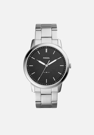 Fossil Minimalist Watches Silver