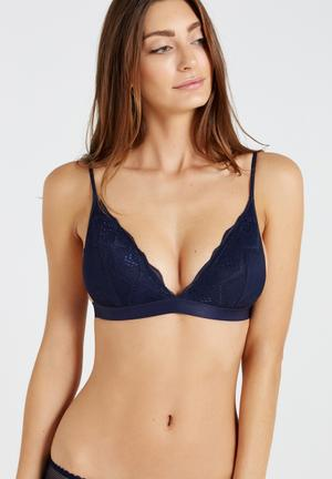 Cotton On Cindy Bralette Navy