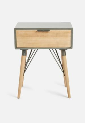 Sarah Jane Industrial Side Table
