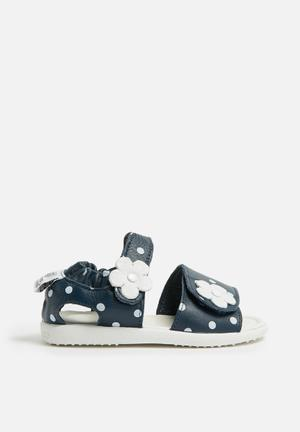 Shooshoos Malibu Shoes Navy