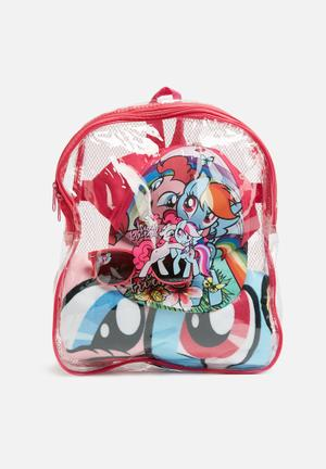 Character Fashion My Little Pony Fun In The Sun Set Accessories Pink & Blue