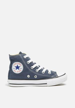 Converse Kids All Star Hi Shoes Navy