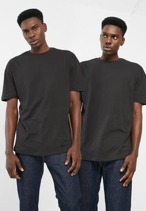 PRODUKT 2pack Skate Boxy Tee T-Shirts & Vests Black