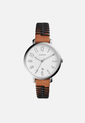 Fossil Jacqueline Watches Brown