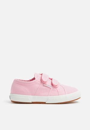 SUPERGA Kids 2750 Classic Velcro Shoes Pink