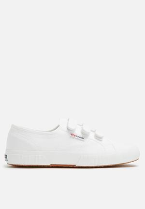 SUPERGA 2750 Classic Velcro Sneakers White