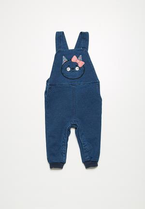 Name It Annis Dungaree Pants & Jeans Navy