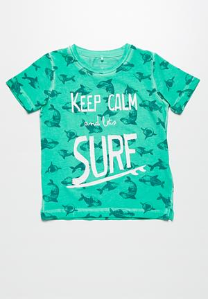 Name It Dalton Tee Tops Green