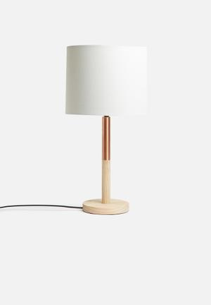 Sixth Floor Element Table Lamp Lighting Pine