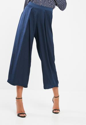 Dailyfriday Culotte Wide Leg Trouser Navy