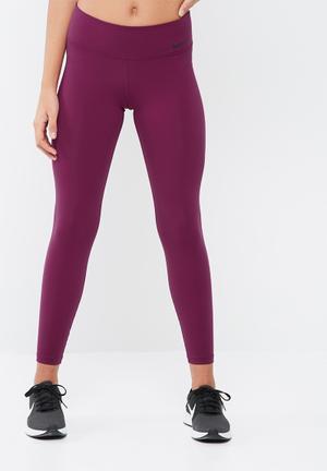 Nike Power Legendary Tights Bottoms Purple